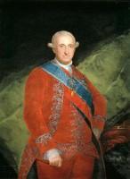 """Carlos IV padre del absolutista Fernando VII y burlado por Napoleón en la llamada """"Burla de Bayona"""""""