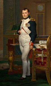 Napoléon Bonaparte. obra de Jacques-Louis_David_-_The_Emperor_Napoleon_in_His_Study_at_the_Tuileries_-_Google_Art_Project