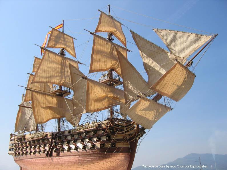 Revestimientos para barcos  del siglo XVIII