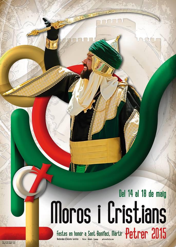 Cartel de Moros y Cristianos 2015