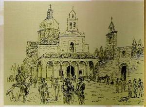 Saqueo de la Ermita del Prado