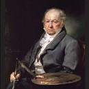 Goya, autorretrato.