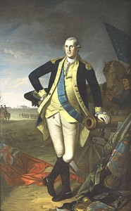 Uno de los retratos de Washington encargados por Miralles al pintor Wilson Peale