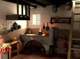 Cocina romana en Pompeya
