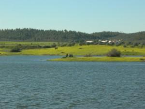 Lago-embalse Alqueva