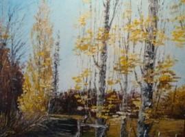 Colores de Otoño-Pinturas de Arturo Siegenthaler,