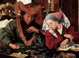 El cambista y su mujer, de Marinus van Reymerswaele