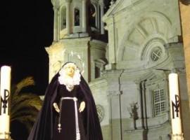 Congregaciones Ecce Mater Tua -Cádiz- Foto Ramón Sánchez Herrera