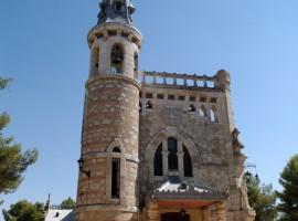 Ermita de la Virgen del Rosario de Pastores, de estilo modernista, construida en 1910 por Jesús Carrasco-Muñoz y Encina (1869-1957). Proclamada Patrimonio de la Humanidad en 2011. Foto: Rubiales.