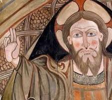 Pinturas de la iglesia de Valdeolivas