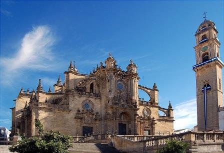 Catedral de San Salvador, en Jerez de la Frontera, Cádiz