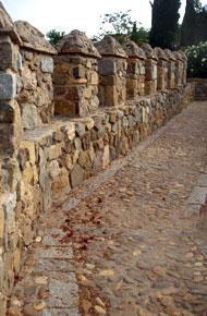 Murallas en la zona judía