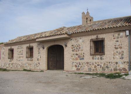 Fachada de la ermita