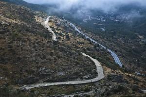 Calzada por la sierra de Gredos