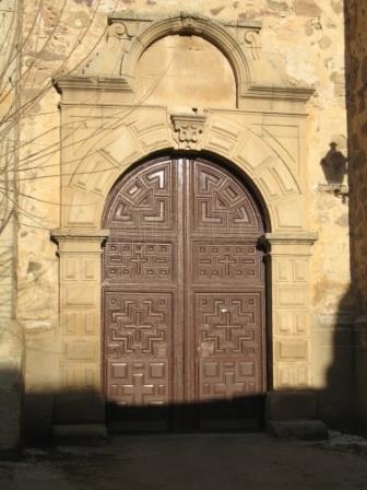 Portada de la iglesia parroquial