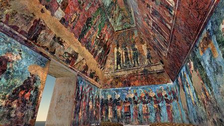 Frescos de Bonampak