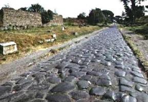 via apia en Roma