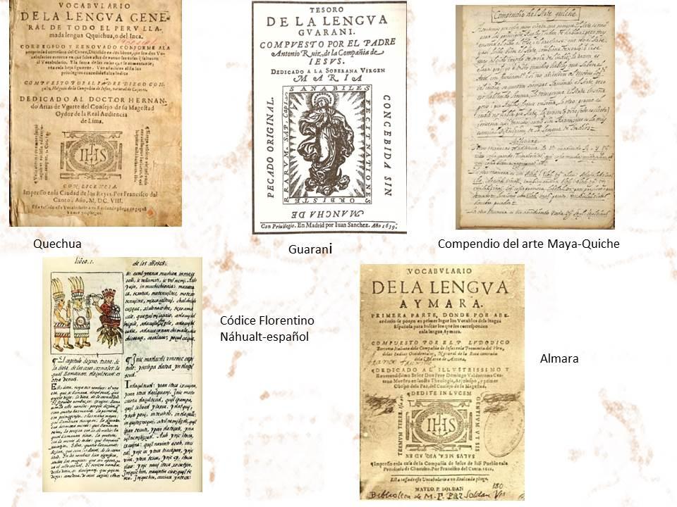 libros de traducciones de las lenguas prehispanas o inigenas