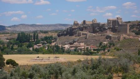 Castillo de Zorita vistos de la recópolis