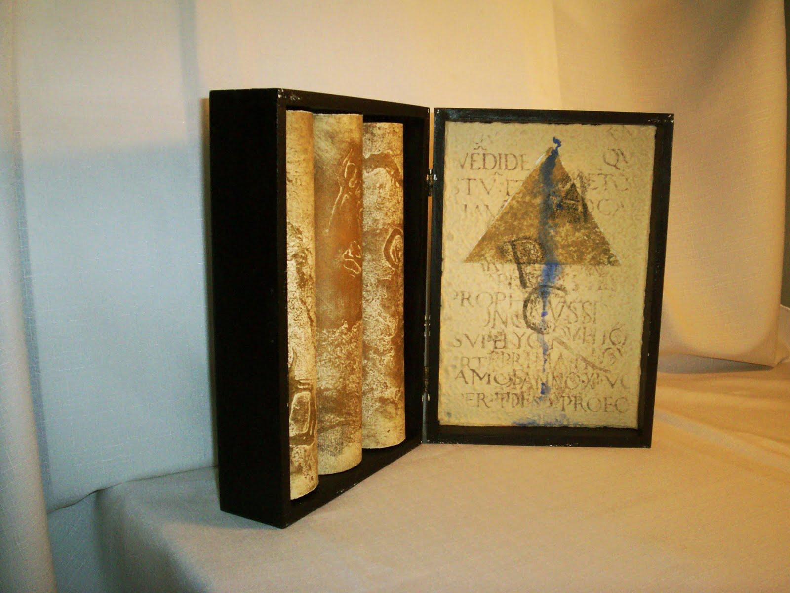 Encuadernación artística de un libro