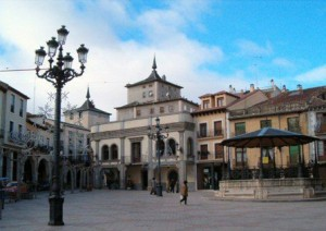 Plaza Mayor de Aranda del Duero