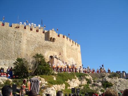 Vista del Castillo de Petrer. Foto: Heliodoro Corbí Sirvent