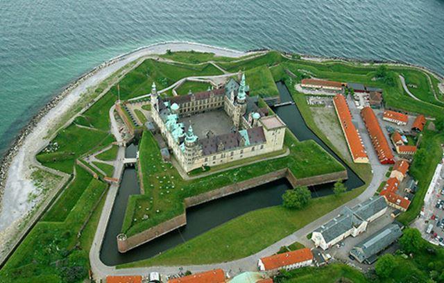 Castillo de Kronborg, Dinamarca