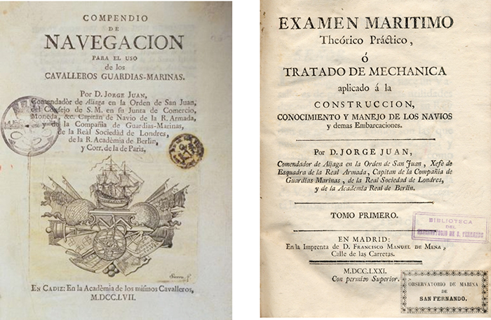 Libros de Jorge Juan