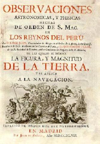 Observaciones e Jorge Juan