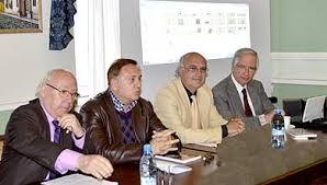 Con Luis Leal y Miguel Romero
