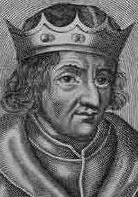 Chilperico II (670- 721), Merovingio, fue rey Franco pero solo de Neustria y rey de los Burgundios