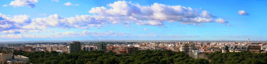 Panorámica de Albacete