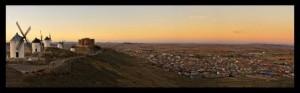 Vista de Consuegra desde el Cerro Calderico