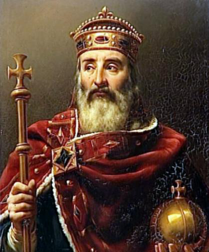 El Empereador Carlomagno, tambien llamado Carlos I el Grande (742-814)