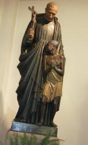 San Pedro Claver, (1580-1654) Esclavo de esclavos. Jesuita que en Cartagenaa de Indias estuvo al lado de los pobres enseñándoles la Divinidad de la Virgen María.