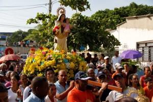 Romería de la Virgen del Carmen en Cartagena de Indias