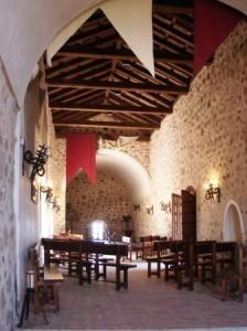 Interior del Castillo de Consuegra
