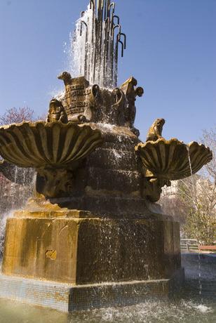 Fuente de las Ranas en Albacete