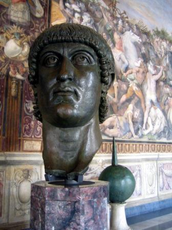 Busto de Constantino. Museo Capitolini
