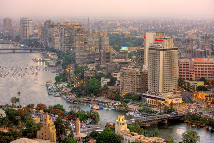 El Nilo y el Cairo