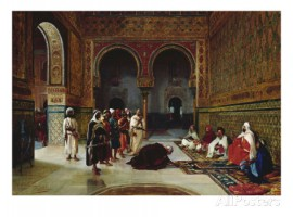 filippo-baratti-an-oath-of-allegiance-in-the-hall-of-the-abencerrajes-alhambra-granada - copia