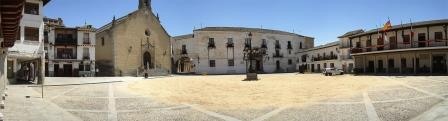 Plaza Mayor de La Puebla de Montalbán