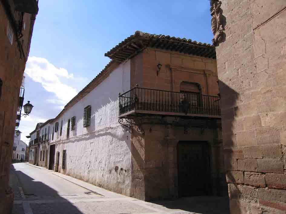 Casa del Caballero del Verde Gabán, Villanueva de los Infantes, Ciudad Real