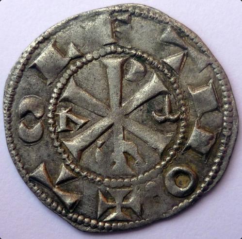 Moneda acuñada en tiempos de Alfonso VI