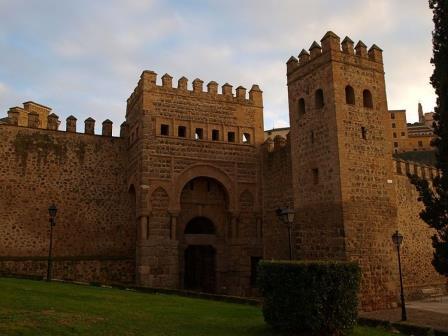 Puerta de Alfonso VI, en Toledo