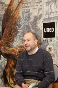 Angel Luis en el Aula poética de la UNED