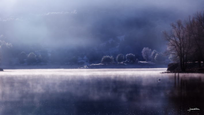 Lago de Uña, Foto Jesús Cañas