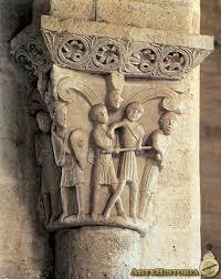 Detalles de los capiteles