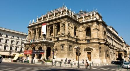 La Ópera de Budapest