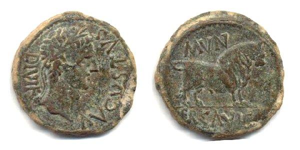 Monedas acuñadas en Ercávica
